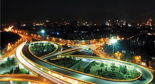 【天津】立交桥亮化工程照明