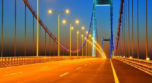 【泰州】长江大桥led亮化工程