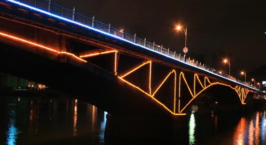 【青州】闽江大桥LED亮化工程