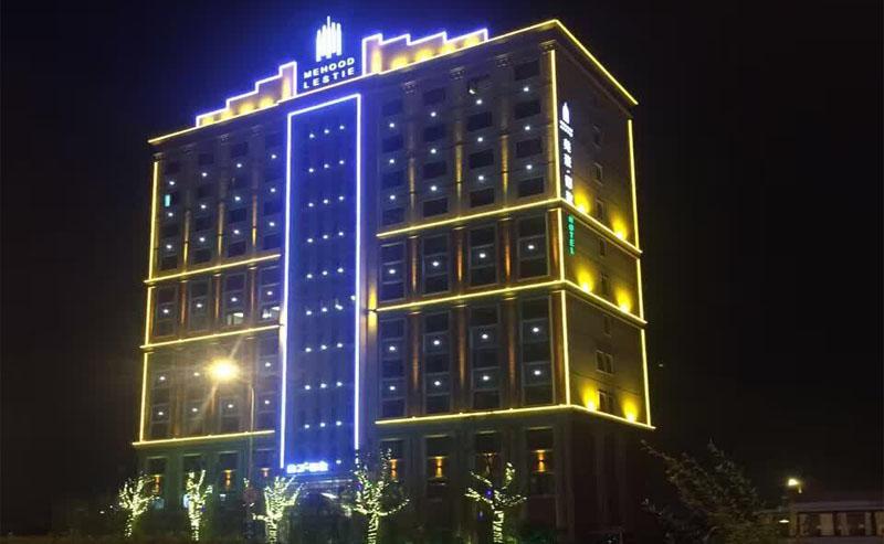 【上海】美豪丽致酒店点光源亮化