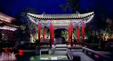 案例欣赏:河洛古城夜景亮化完工啦