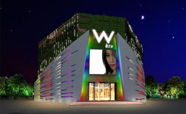 【辽宁】沈阳VV KTV墙面亮化工程