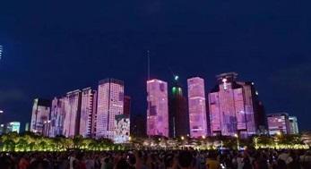 惊艳城市!深圳灯光夜景工程