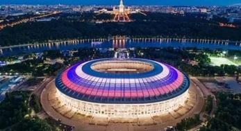 俄罗斯世界杯结束,欣赏下世界杯12座球场夜景灯光