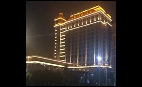 光臣照明LED洗墙灯和投射灯打造大气酒店亮化