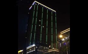 【四川】大楼LED护栏管亮化