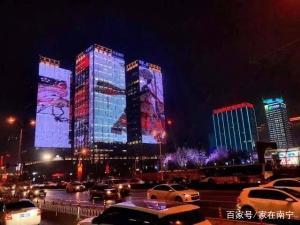 南宁夜景灯光模式开启,灯光盛会迎东盟博览会