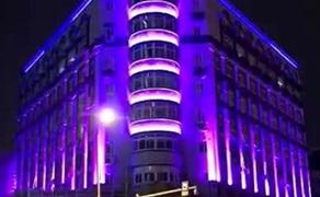 【浙江】沿街建筑亮化