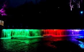 【四川】景区水景全彩洗墙灯亮化
