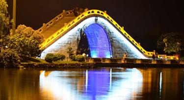 LED洗墙灯厂家浅谈:桥梁亮化工程设计的六大要求
