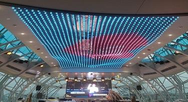 订制LED全彩点光源在邮轮上绽放光芒
