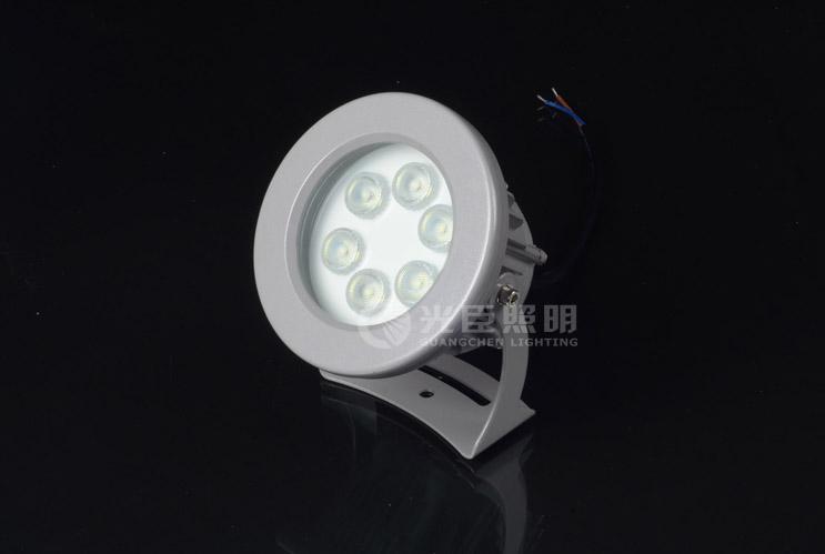 6W圆形大功率LED投射灯