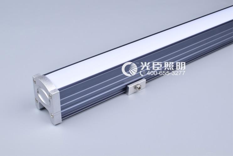 3235暗灰色铝材LED线条灯