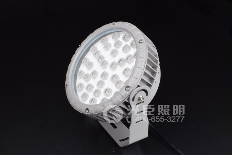 圆形大功率LED投光灯3W/6W/9W/18W/36W