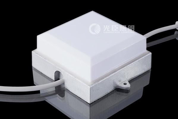 100*100MM方盒铝座LED点光源