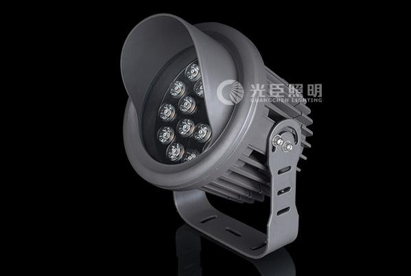 18W带档板大功率LED投射灯