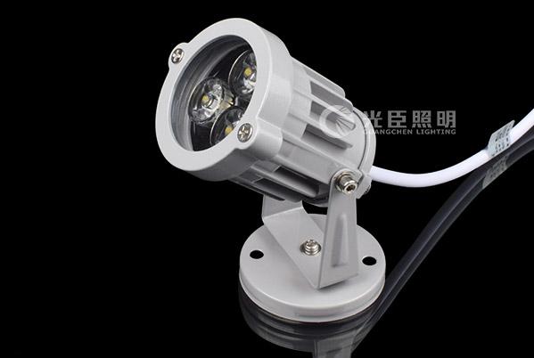 3W平面大功率LED投射灯
