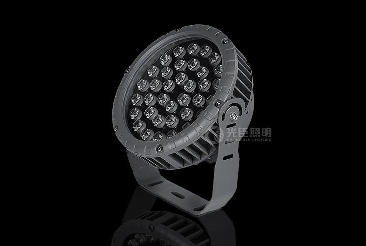 圆形大功率LED投射灯3W/6W/9W/18W/36W