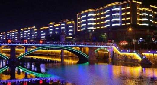 湖南郴州宜章县_【湖南】郴州宜章县LED亮化工程|市政工程|光臣照明