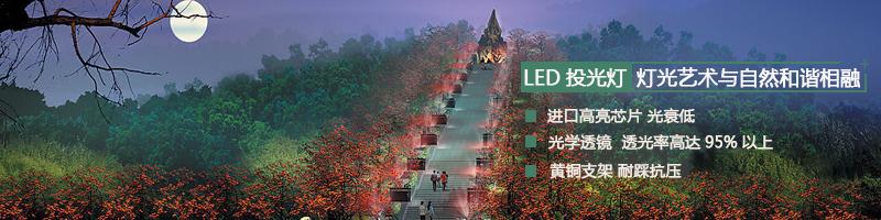 大功率LED投光灯生产厂家案例合集