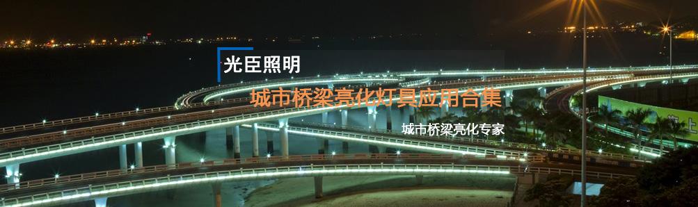 光臣照明城市桥梁亮化灯具应用合集